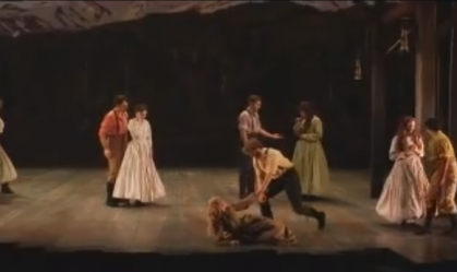 Seven Brides for Seven Brothers at Drury Lane Oakbrook